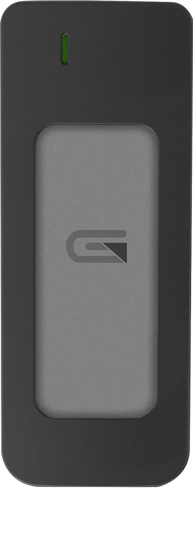 Glyph Atom Grey, 275GB SSD, USB-C (3.1, Gen 2), USB 3.0, Compatible with Thunderbolt 3