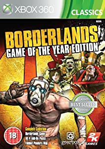 Borderlands: Game of the Year - Classics (Xbox 360) [Importación inglesa]