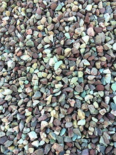 Cuarzo gravilla Rojo de color blanco 8 – 16 25 kg: Amazon.es: Jardín