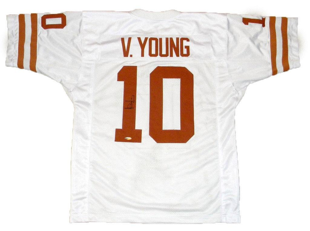 Autographed Vince Young Jersey - #10