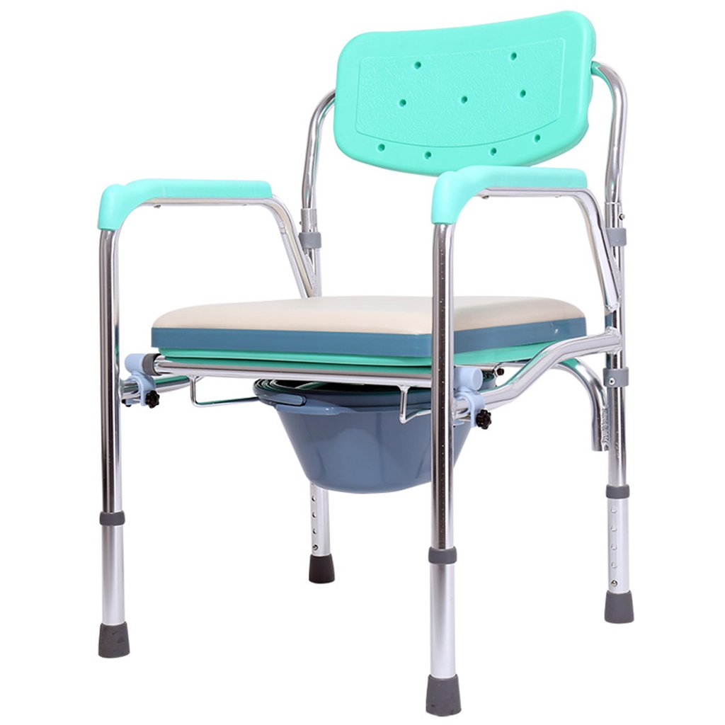 Amazon.com: Lxn Folding Commode Chair with Padded Toilet Seat ...