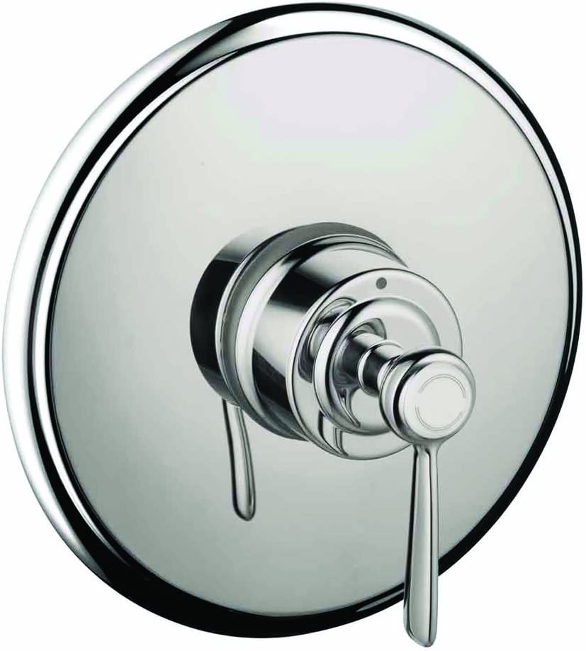 Axor Montreux Classic Timeless Easy Control 1 Handle 7 Inch Wide Pressure Balance Shower Valve Trim In Chrome 16508001 Bathroom Sink Faucets