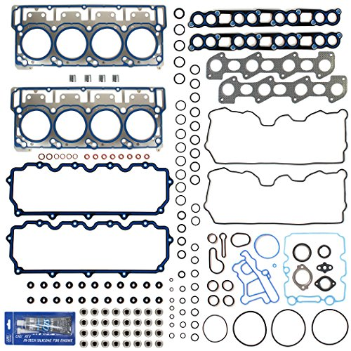 New MLS Cylinder Head Gasket Set (18mm) w/RTV Silicone for 03-10 Ford 6.0L PowerStroke Diesel Turbo...