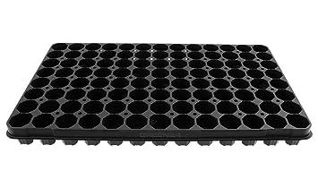 Bandeja para semilleros con 104 alveolos, bandeja alveolar de 104 huecos, GREEN24, bandejas
