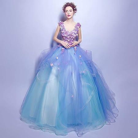 W&TT Mujer Elegante Tul de la Princesa Traje 16 Quinceanera ...