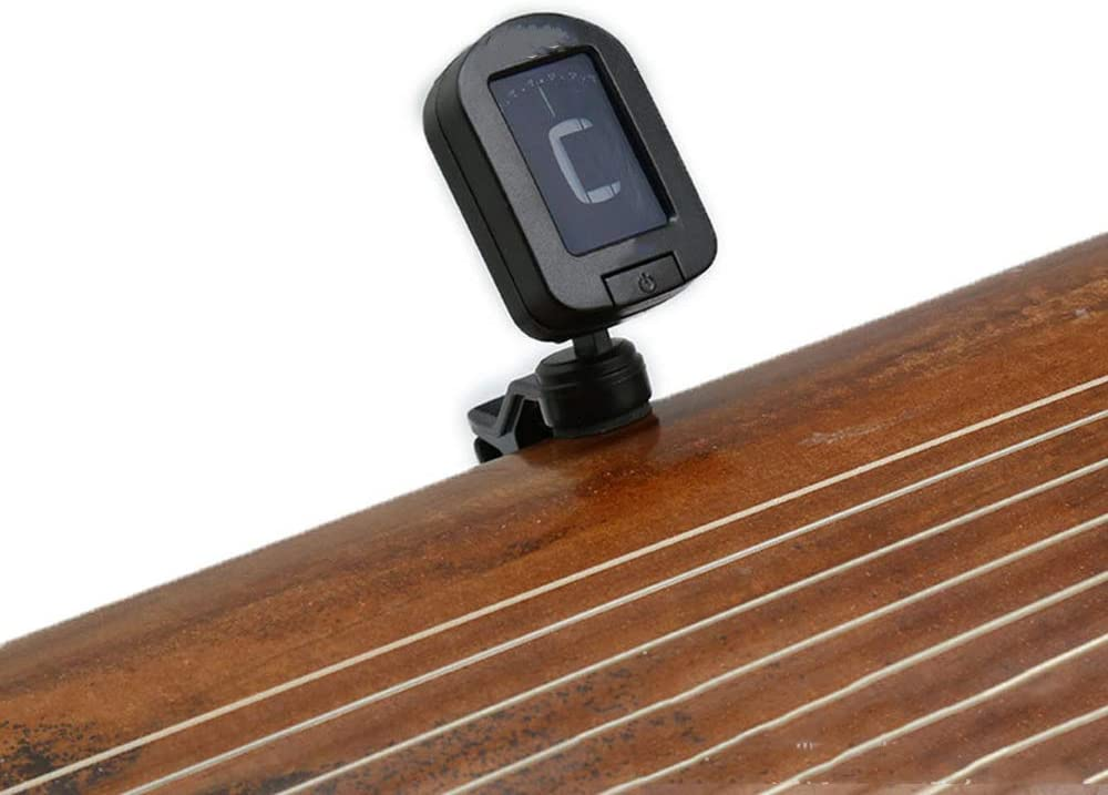 Black Tuner Folk Music Clip Tuner Three-in-One Portable ...