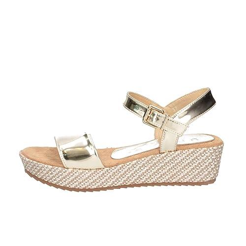 bbd96c872 Unisa TERETE LH Platino Sandals Child Platinum 36  Amazon.co.uk ...