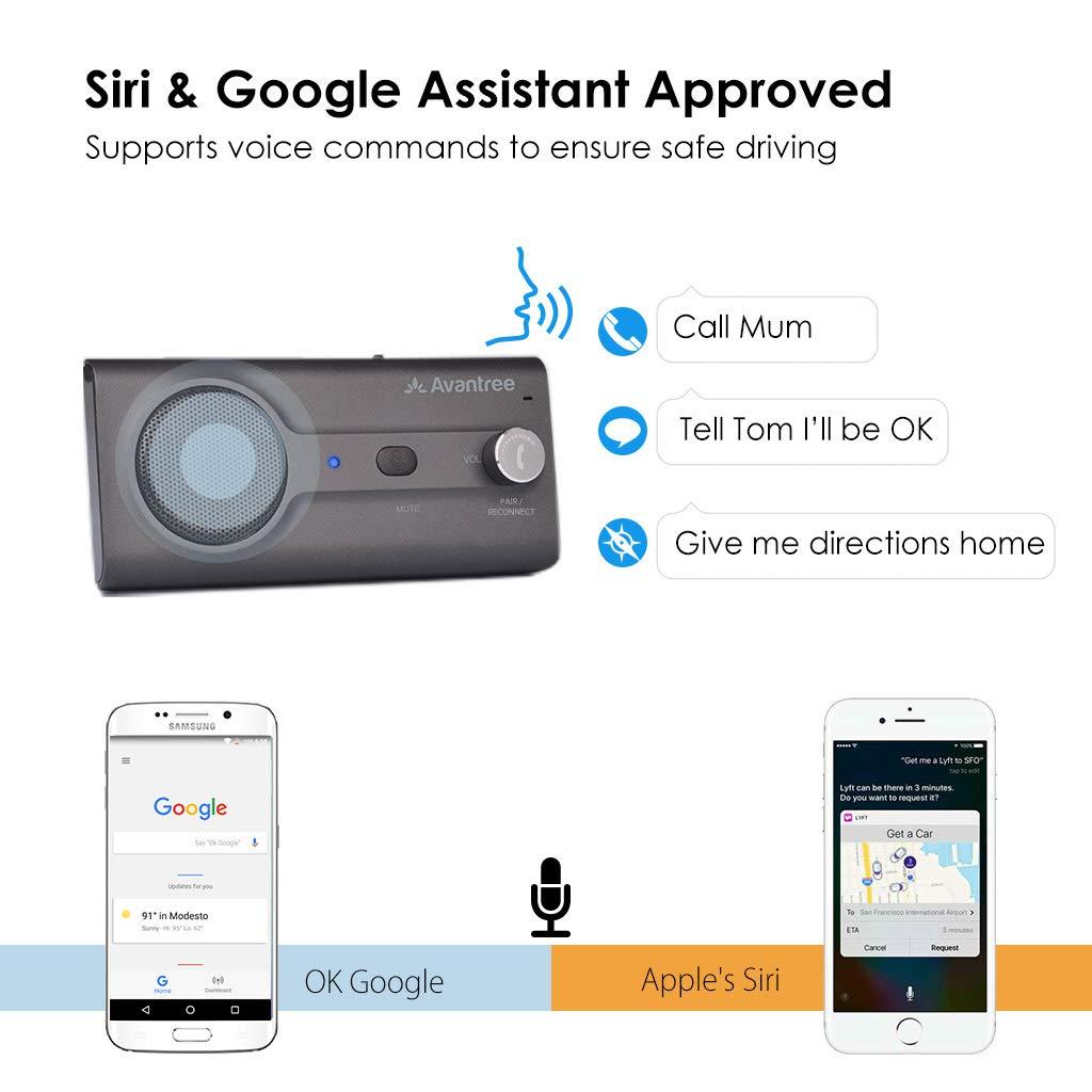 Amazon.com: Avantree 2018 - Kit de visera para coche con ...