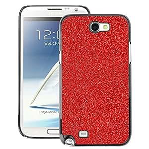 A-type Arte & diseño plástico duro Fundas Cover Cubre Hard Case Cover para Samsung Note 2 N7100 (Christmas Decoration Glitter Sparkle)