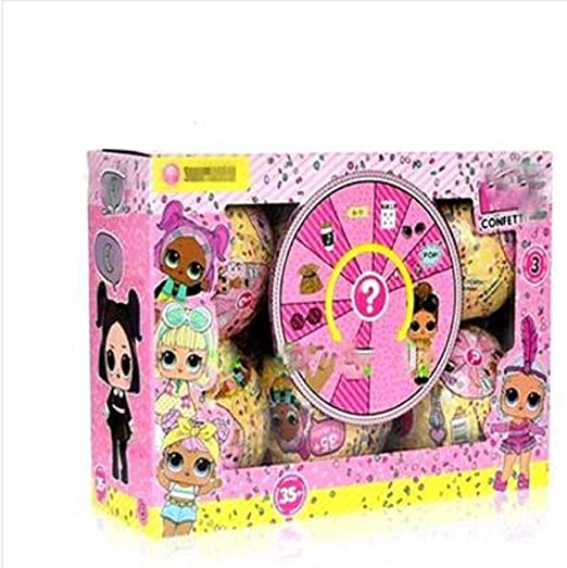 Lol Split Ball - Caja ciega para muñecas, diseño de bola de mano, Bola de rebote de 10 cm., 6: Amazon.es: Hogar