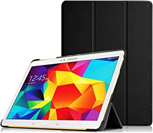 Fintie Funda para Samsung Galaxy Tab S 10.5 - Súper Delgada y Ligera Carcasa con Función de Soporte y Auto-Reposo/Activación para Samsung Galaxy Tab S 10.5 T800 T805, Negro