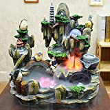 Feng Shui Fountain Lucky Mountain and Waterfall (Style 8)