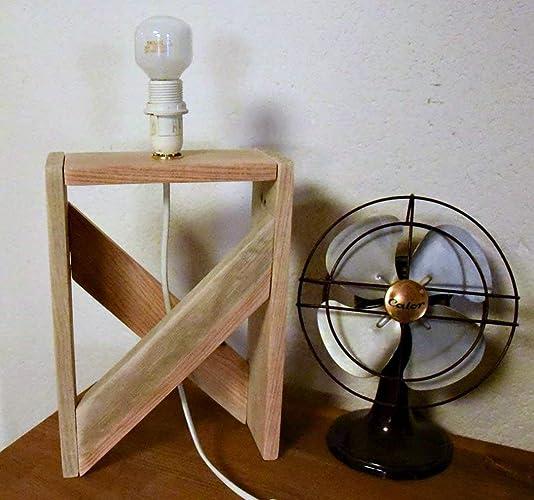 Lampe Design En Bois De Palette Amazon Fr Handmade