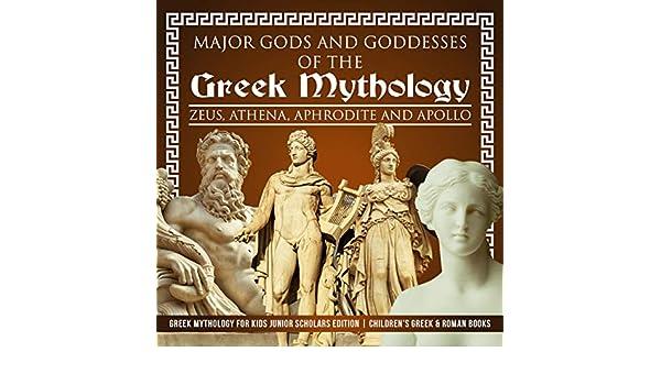 Amazon Com Major Gods And Goddesses Of The Greek Mythology
