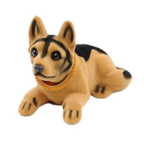 RONSHIN Bobble Head Dogs Bobbing Heads Car Dash Ornaments Puppy for Car Vehicle Dachshund