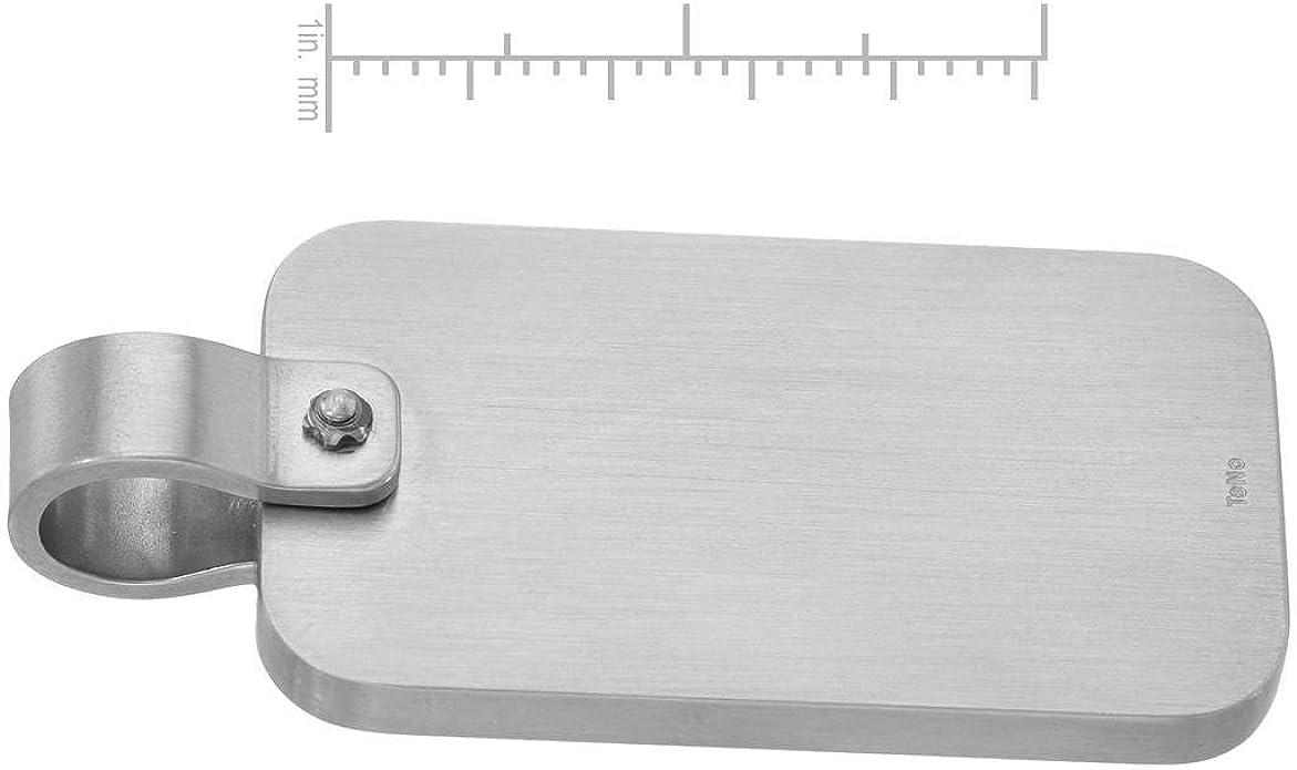 Length 20 mm. Teno Stainless Steel Pendant For Women
