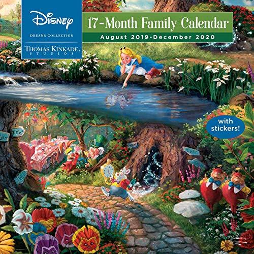 Thomas Kinkade Studios: Disney Dreams Collection 2019-2020 17-Month Family Wall