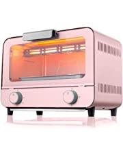 9L Electric Mini Oven with 30 Minute Timer Adjustable Temperature Control Timer Accessories Also Included 800W Baking Bread Kitchen appliances
