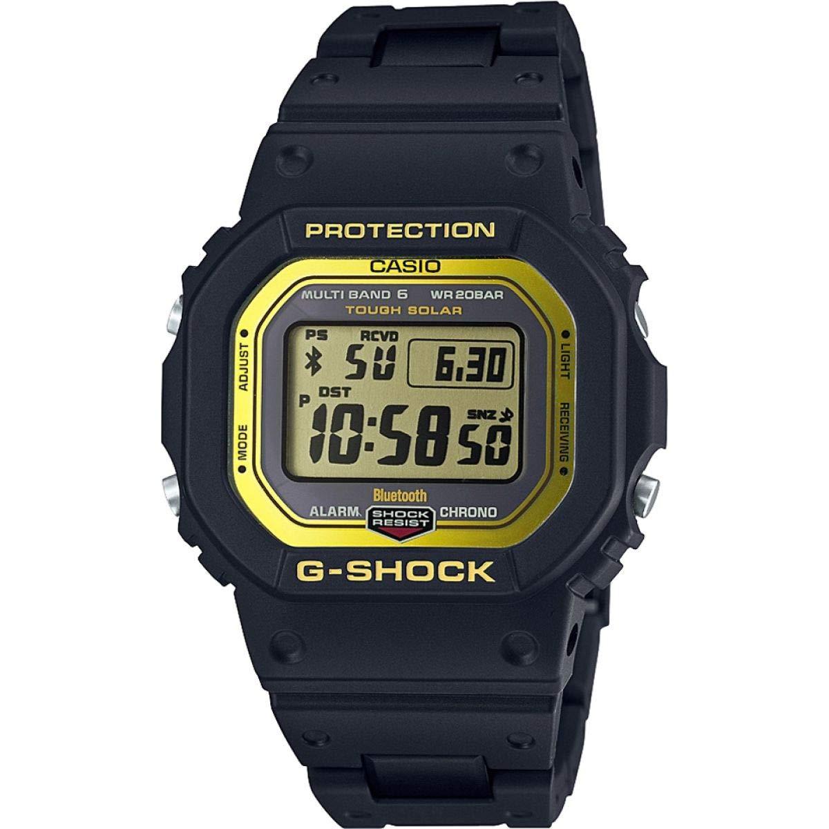Casio Reloj Digital para Hombre de Cuarzo con Correa en Resina GW-B5600BC-1ER