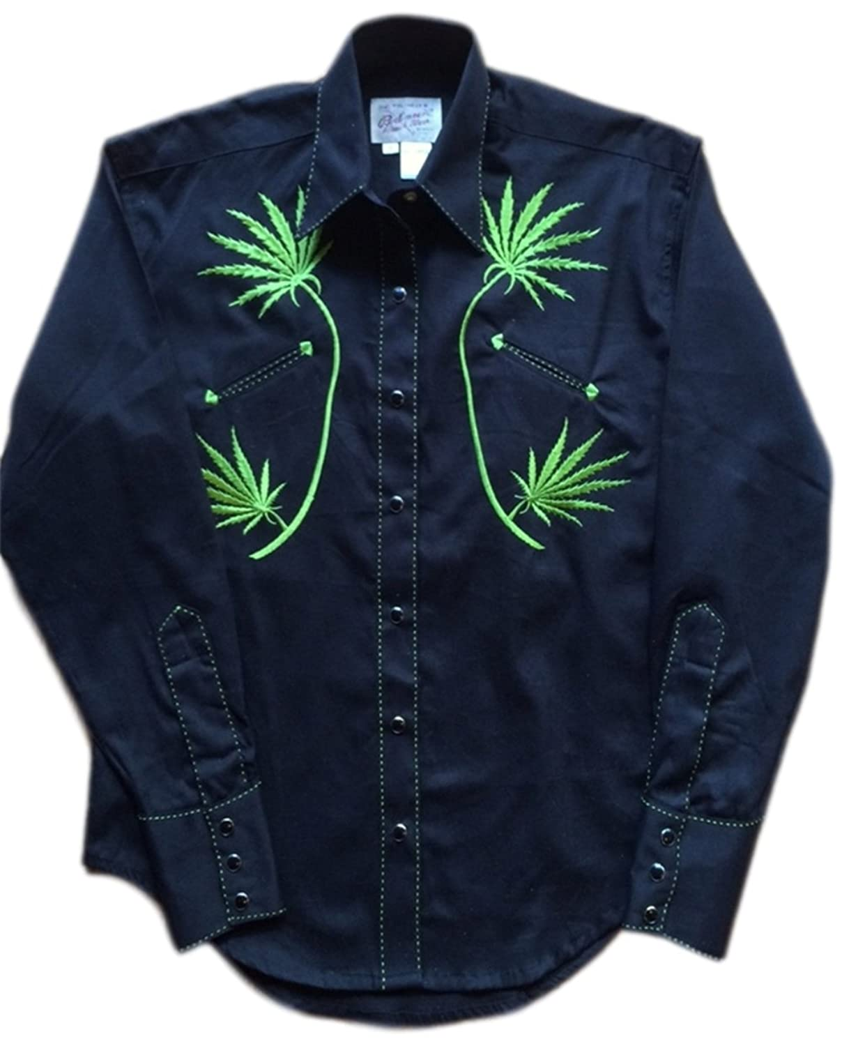 Rockmount Womens Cannabis Cowgirl Country Western Shirt