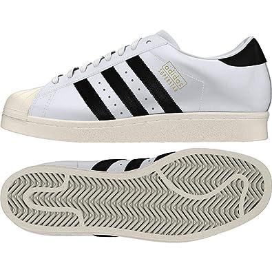 Adidas Superstar OG, Zapatillas de Deporte para Hombre, Blanco (Ftwbla/Negbas / Casbla 000), 38 2/3 EU: Amazon.es: Zapatos y complementos