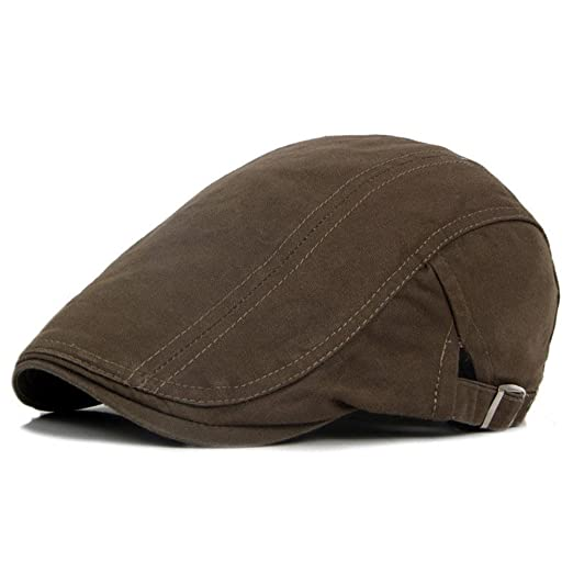 1b0fcbaf672 Image Unavailable. Image not available for. Color  Colors of Rainbow Men s  Retro Casual Ivy Hat Summer Winter Golf Newsboy Driving Cabbie Flat Cap