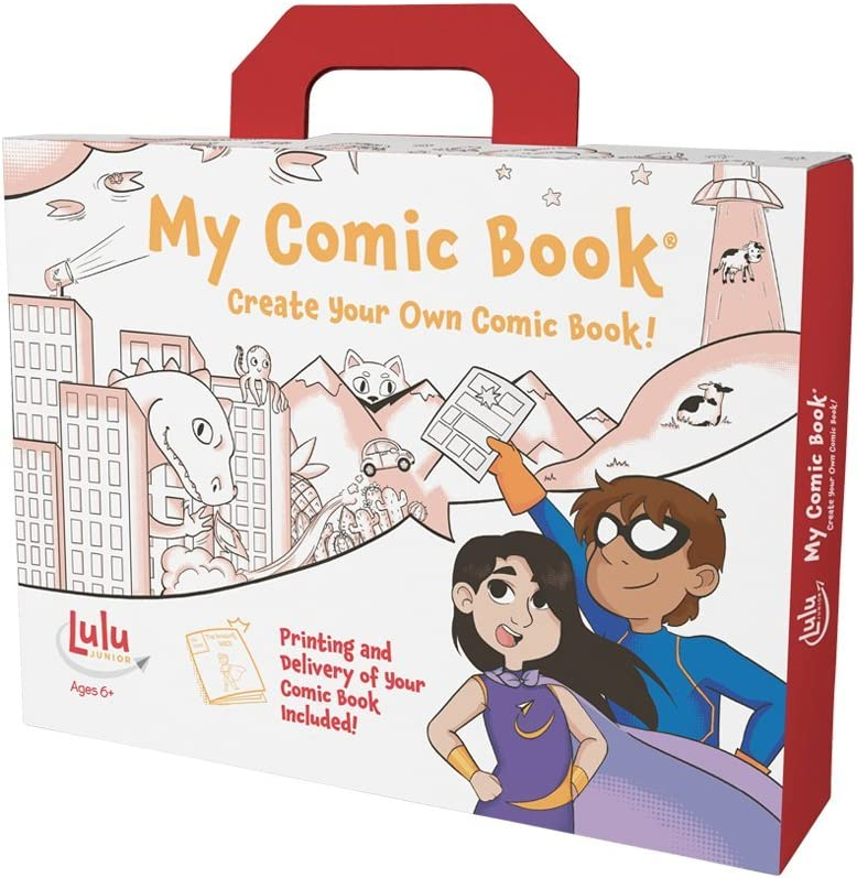 an image of a comic book making kit