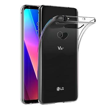 AICEK Funda LG V30, Transparente Silicona Fundas para LG V30 Carcasa Silicona Funda Case (6,0 Pulgadas)