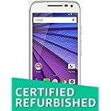 (Certified REFURBISHED) Motorola Moto G Turbo Edition XT1557 (White, 16GB)