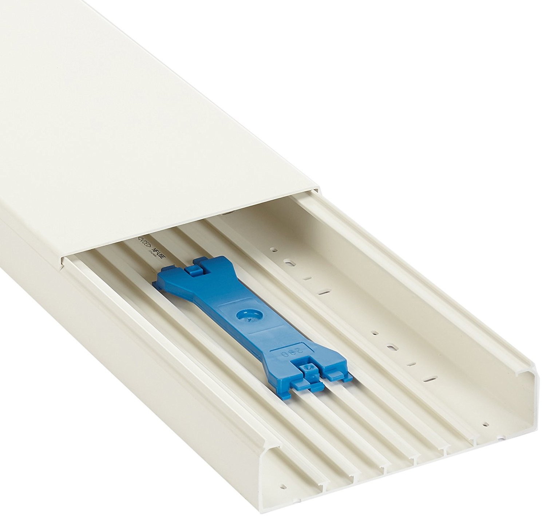 GGK EAN8014 Goulotte 60 x 200 mm x 1,30 m Blanc