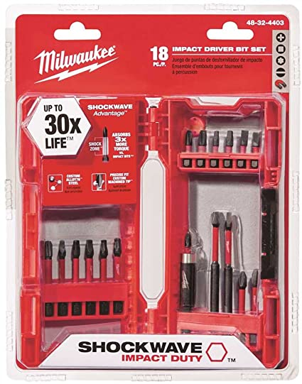 Milwaukee Multi-Bit Drivers Multi-Size-Mfg# 48-32-4403 - Sold As 2 ...