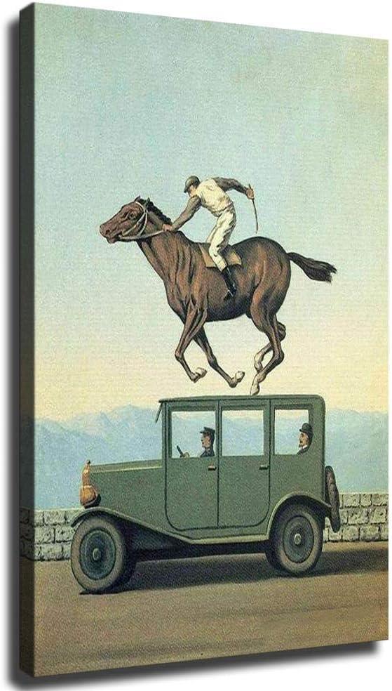 Póster de carreras de caballos y carros de caballos y carros, Enmarcado, 12x16inch