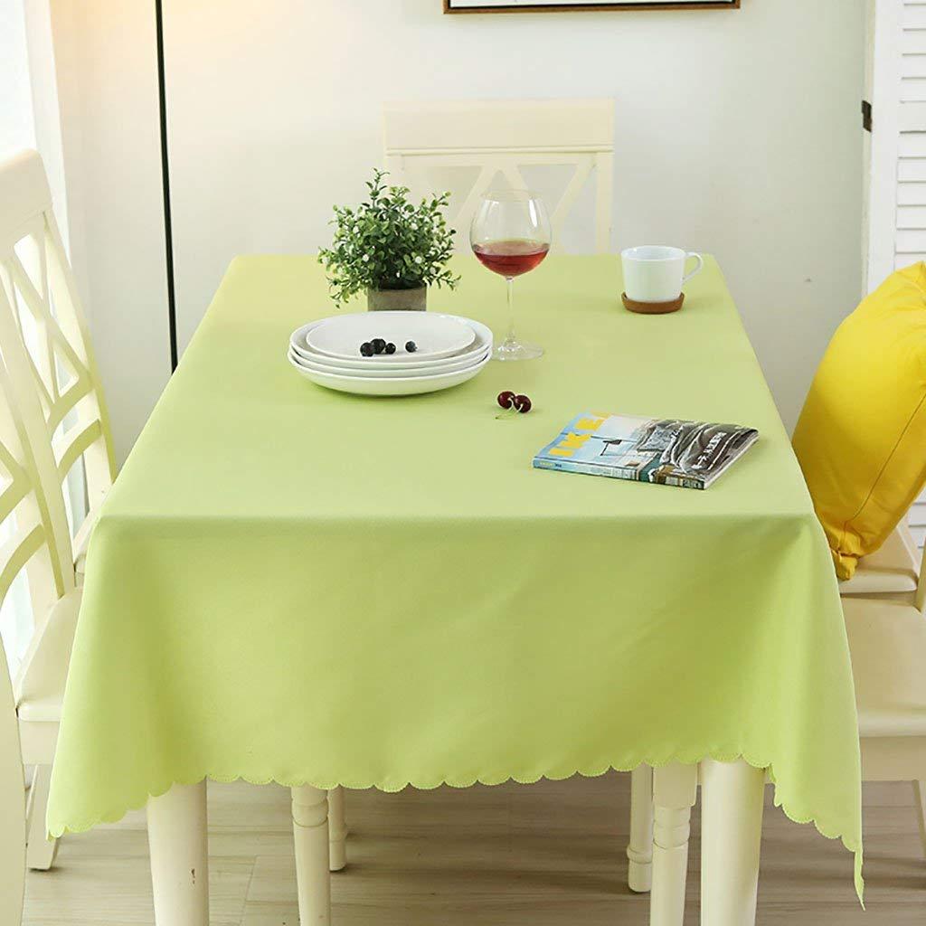 QYM テーブルクロス、ポリエステルファイバー製のテーブルクロス、ピュアカラーの長方形のテーブルクロス、ユニークなパーティー用テーブルクロス、ティーテーブルクロス、家庭用、オフィス、会議用、ホテル用テーブルクロス、シンプルでモダン (サイズ : 180*320cm) 180*320cm  B07RTSBL64