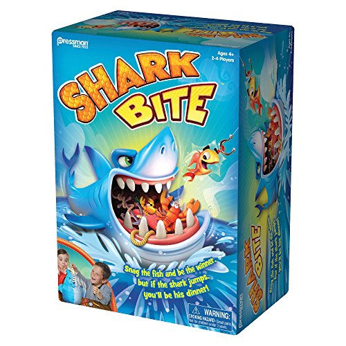 Pressman Toys Shark Bite Game (2-4 Players) (Shark Kids Toys)