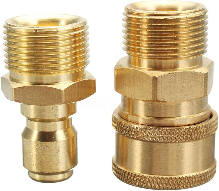 Majome 1/paire M22/Quick Release adaptateur connecteur Raccord 14.8/mm pour nettoyeur haute pression