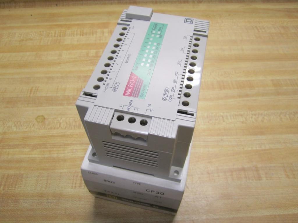 Square D 8003 CP30 Micro Controller 8003CP30 Series A1 Rev 1.00