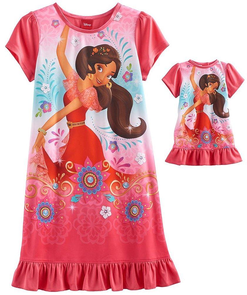Disney Elena of Avalor Nightgown & Doll Nightgown - Girls, Kids Sizes 4-8