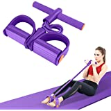 Hestya Pedal Resistance Bands,Elastic Sit Up Rope,Multi-Function Tension Rope,Natural Latex Sit-up Bodybuilding…