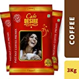 Cafe Desire Instant Coffee Premix Combo (Red Range) - 3 Kgs