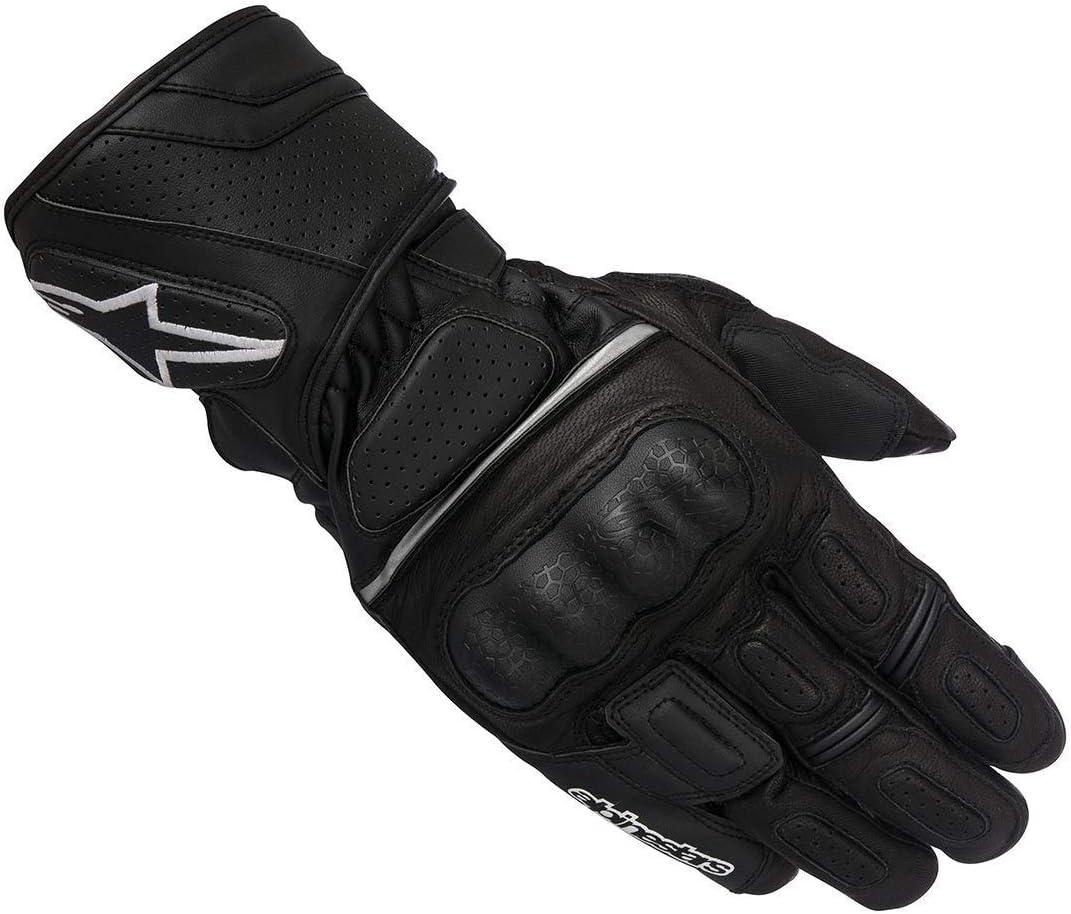 Motorcycle Alpinestars SP Z Drystar Gloves WP Black White Red S