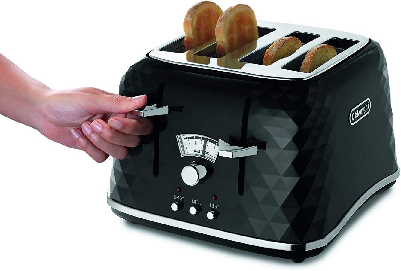 Delonghi CTJ2103.W Brillante Series Toaster White