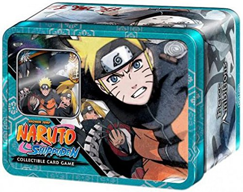 (Naruto Shippuden Card Game Fierce Ambitions Collector Tin Set Naruto Vs. Akatsuki Includes Promo Card)