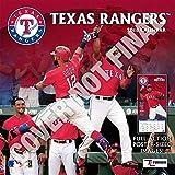 Texas Rangers 2019 12x12 Team Wall Calendar