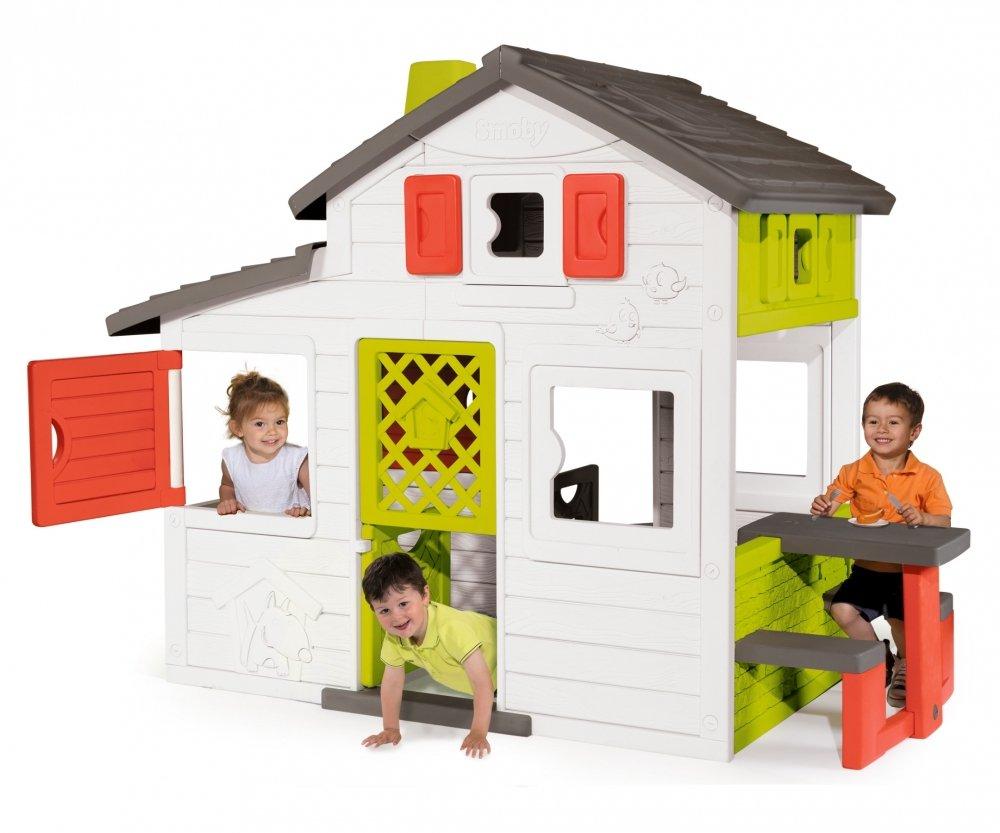 Spielhaus Mit Sommerküche : Smoby friends house spielhaus mit küche zubehör