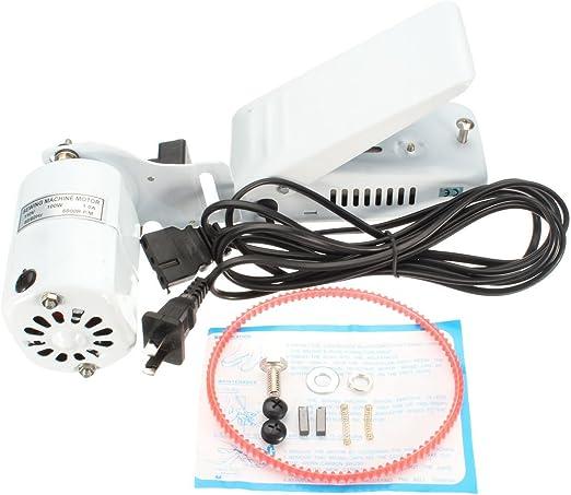 Motor de máquina de coser y control de pedal de pie para Singer 15 ...