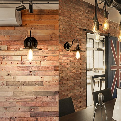 applique industrielle applique murale interieur cage lampe rustique suspension vintage luminaire. Black Bedroom Furniture Sets. Home Design Ideas