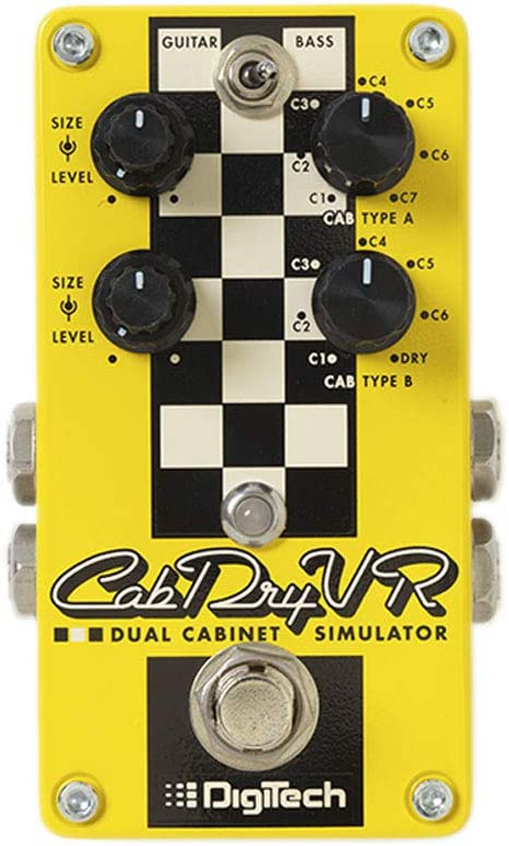 Digitech Dual Speaker Cabinet Emulator Pedal (CabDryVR-U)