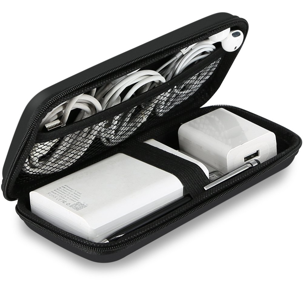 The Shockproof Carring Case Cable Organizer travel product recommended by Maria on Lifney.