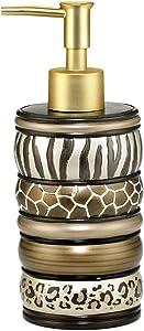 Popular Bath Safari Stripe Soap Dispenser