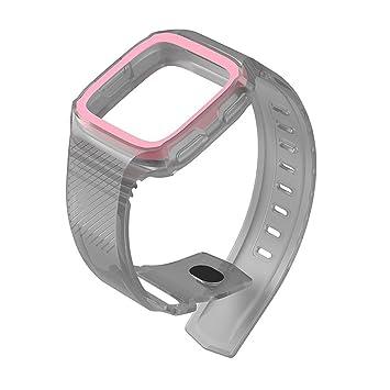 Y56 Armband Ersatzarmband para Fitbit Versa Watch Carcasa rígida con ...